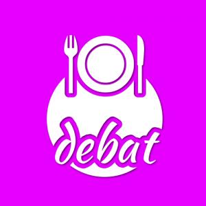 debat aan tafel logo